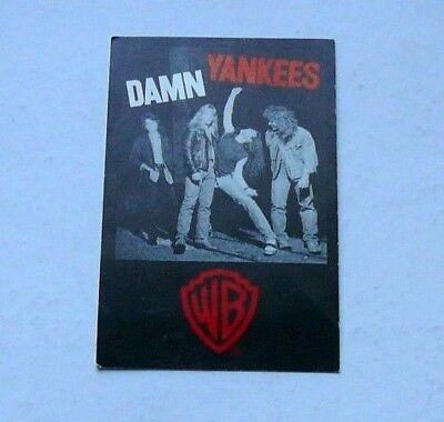 Damn Yankees Tour Pass ( Tommy Shaw - Styx Ted Nugent ) W/ Bonus (Free Shipping)