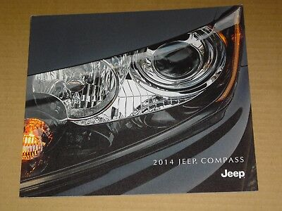 2014 Jeep Compass Sales Brochure Mint! 26 Pages