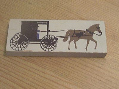 Cats Meow AMISH BUGGY  CM # 168 1990