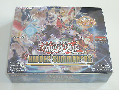 Yu-Gi-Oh - Hidden Summoners - Display - NEU & OVP - Deutsch