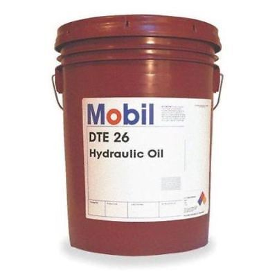 MOBIL Mobil DTE 26, Hydraulic, ISO 68, 5 gal., 105475