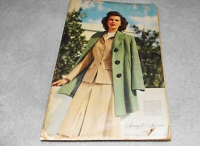 1944 Mongomery Ward Catalog-Original WWII Era Ward's Catalog-Spring/Summer