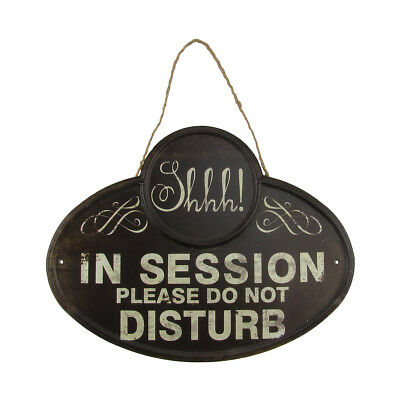 SH Quiet In Session Please Do Not Disturb Sign Business Meeting Door/Wall Decor