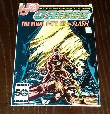 Crisis on Infinite Earths #8 (1985, DC) Death of Barry Allen Flash- Copper Age