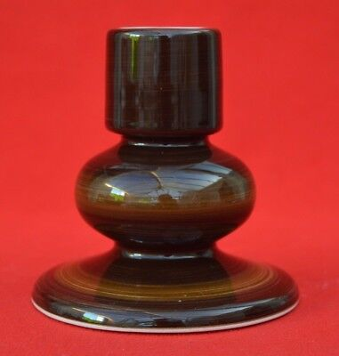 Jersey Pottery Candlestick - 4 Inches Tall - Super Condition!