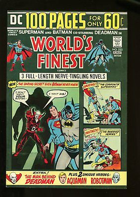 WORLD'S FINEST #227 VERY FINE/ NEAR MINT 9.0 1974 DC COMICS #stp-1006