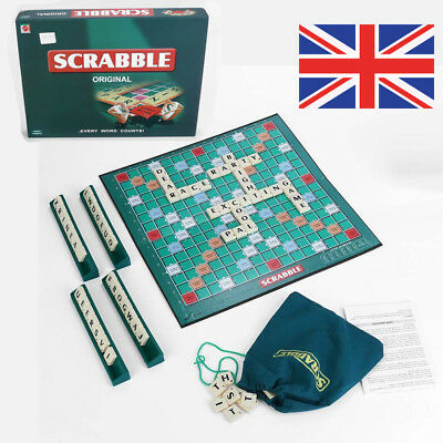 Classic Child Adult Family Game Scrabble Crossword Traditional Board World Game