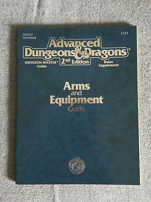 AD&D / Advanced Dungeons & Dragons 2nd Edition Arms and Equipment Guide