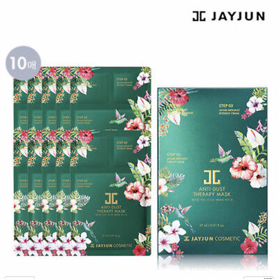 [JAYJUN]  Anti Dust Therapy 3step Mask Sheet Korea  Whitening Lifting (10ea)