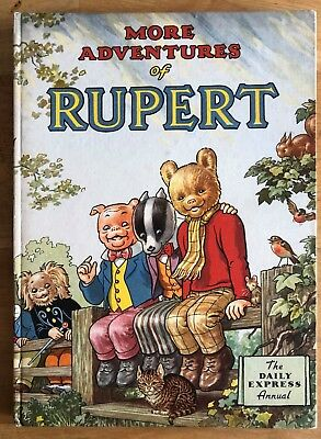 RUPERT ORIGINAL ANNUAL 1953 Inscribed NOT Price Clipped Painting untouched FINE