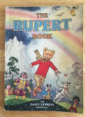 RUPERT ORIGINAL ANNUAL 1948 Inscribed Not Price Clipped VG PLUS