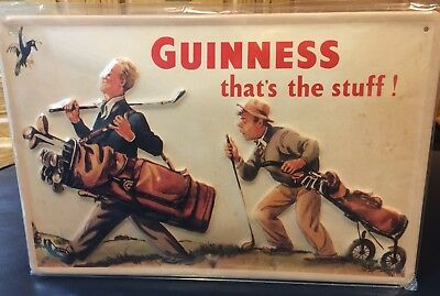 """Guinness """"that's the stuff!"""" Golf Sign"""