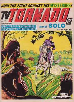 TV Tornado/Solo comic no.39 (October 7th 1967). The Mysterons/Man From UNCLE. FN
