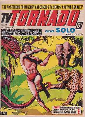 TV Tornado/Solo comic no.41 (October 21st 1967). Mysterons/Man From UNCLE. VG-FN