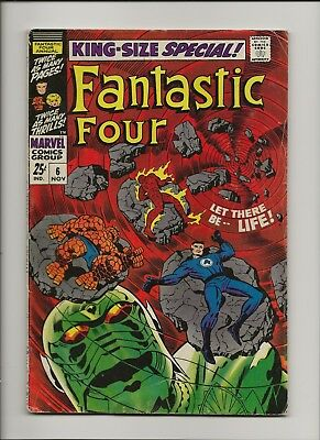 Fantastic Four King-Size Special 6 VG+ 4.5 First Annihilus Key 1st FF Annual