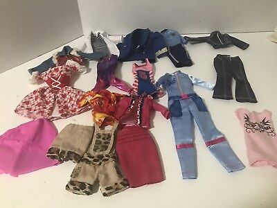 Barbie Doll Clothing Lot Uniform I Can Be Policewoman Astronaut Gymnastic Huskie