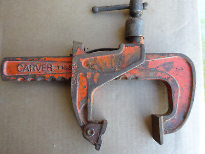 """Vintage Carver T186  6"""" / 150mm clamp - Old hand tool"""