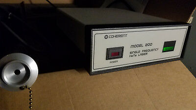 Coherent Model 200 Single Frequency HeNe Laser - Used