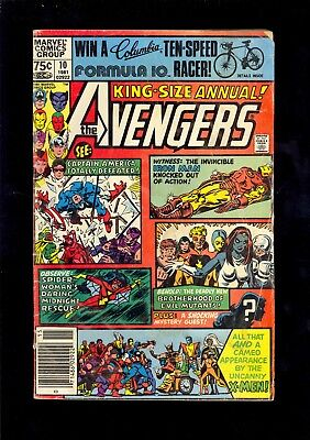 AVENGERS ANNUAL #10 LOW GRADE 1st APPEARANCE OF ROGUE 1981  COMIC KINGS