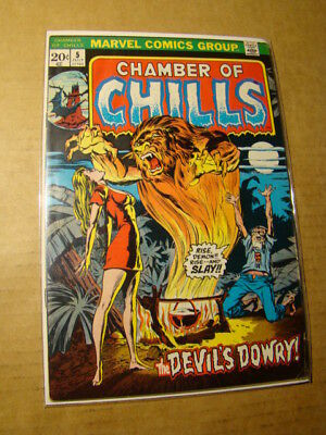 Chamber Of Chills 5 Marvel Bronze Age Horror 1972