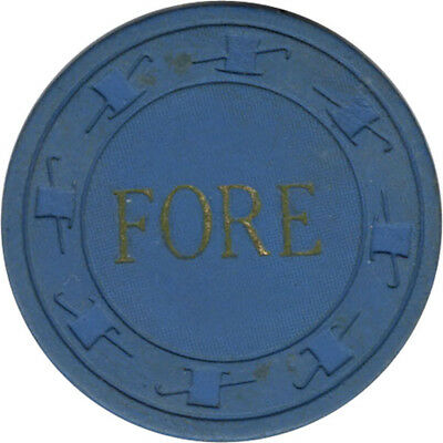 Fore - $1 Casino Chip