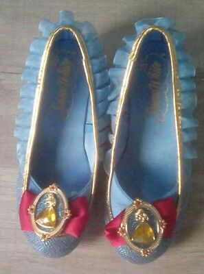 SNOW WHITE dress-up shoes, UK 11-12, in good used condition