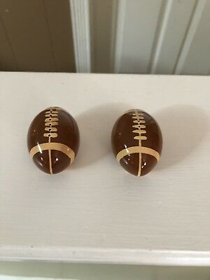 Football Salt And Pepper Shakers Gameday