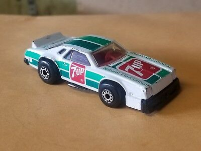 1980 VINTAGE Matchbox 7Up  Chevy Pro Stocker IN GREAT USED CONDITION