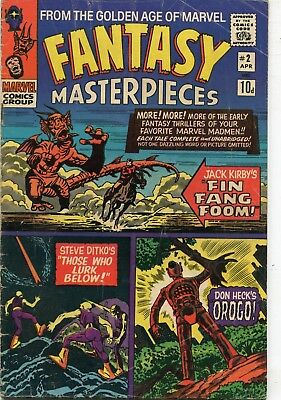 Fantasy Masterpieces # 2 - 60's Ditko & Kirby Reprints - Fin Fang Foom - 1966
