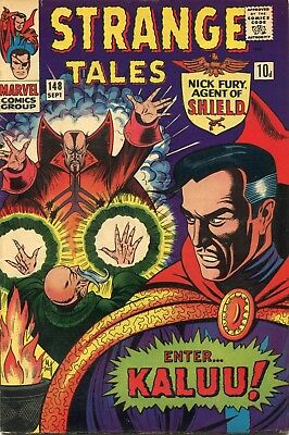 Strange Tales # 148 - Nick Fury - Dr. Strange - Bill Everett Art/cover - Kirby