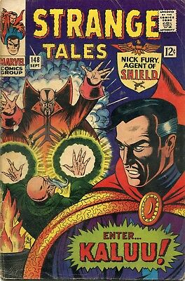 Strange Tales # 148 - Nick Fury - Dr. Strange - Bill Everett Art/cover - Cents