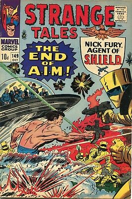 Strange Tales # 149 - Nick Fury - Dr. Strange - Bill Everett Art - Kirby