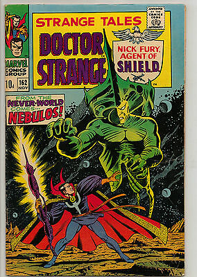Strange Tales # 162 - Nick Fury - Captain  America  Appears -  Dr. Strange
