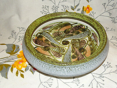 Rare Glyn Colledge Hand Painted Fruit Bowl Denby Studio