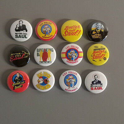 12 Better Call Saul / Breaking Bad Los Pollos / Button Pin Badge / 1 Inch 25 mm