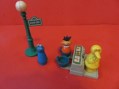 1970's Fisher Price Sesame Street Play Set Little People Accessories