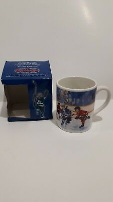 Tim Hortons Winning Goal Limited Edition Coffee Mug Cup With Box