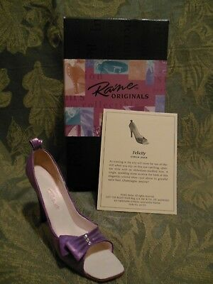 Just The Right Shoe~Collectible~Felicity~New In Box~Mint Condition