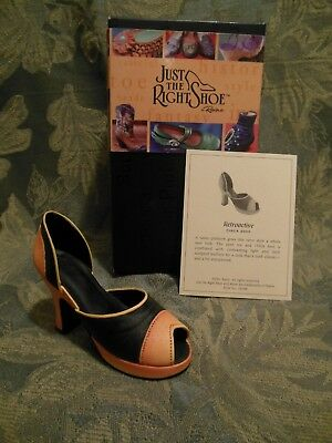 Just The Right Shoe~Collectible~Retroactive~New In Box~Mint Condition