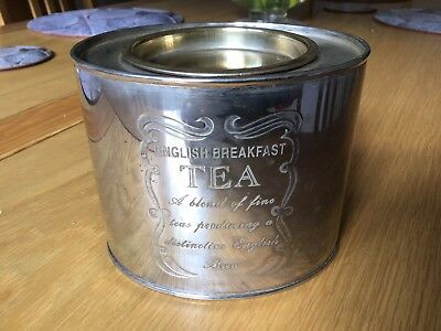 Vintage Metal English Tea Tin