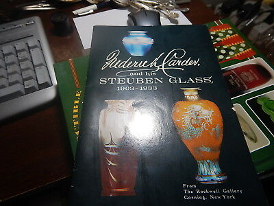 Antique reference book Frederick Carder and His Steuben Glass 1903-1933