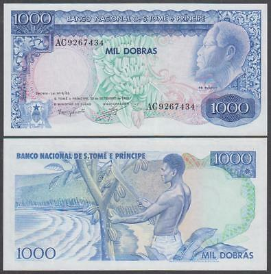 1982 Central Bank St. Thomas and Prince 1,000 Dobras (XF+++)