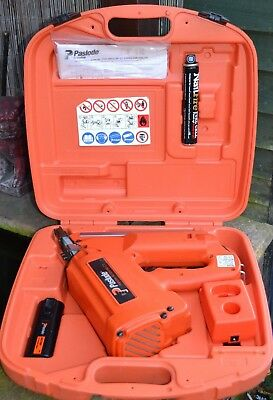 Paslode Im350/90 Ct Cordless 1St Fix Framing Nailer,gas, Battery, Charger & Case