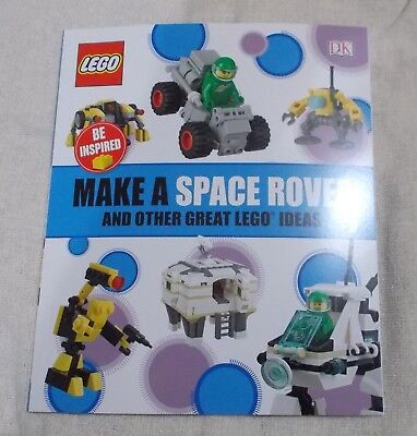 Kids Book - LEGO - Be Inspired - MAKE a SPACE ROVER - p/b  New - DK
