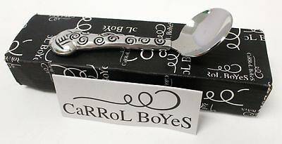 CARROL BOYES High Quality Hand Made Pewter Spoon In Box - B52