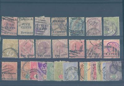 CEYLON early used stamps 1900s (CV $92 EUR80)