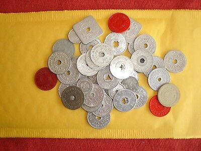 Nice Lot of State Tax Tokens, Various States