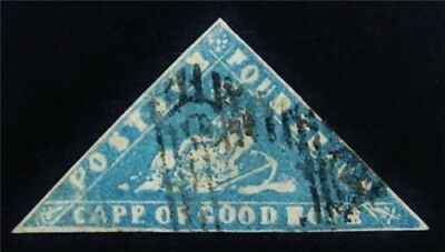 nystamps British Cape of Good Hope Stamp # 9 Used $3000