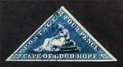 nystamps British Cape of Good Hope Stamp # 13 Used $90
