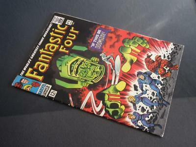 Fantastic Four #49 - HIGHER GRADE -MARVEL 1966- 2nd app/1st cover Silver Surfer!
